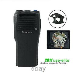 10Replacement Repair case Housing for MOTOROLA CP200 with OEM Speaker 4 channel