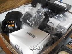 10 NEW in box OEM Impres Motorola WPLN 4243A chargers withPS for XPR6500 Radios