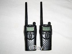2 New Motorola XTN XV2100 VHF Business 2-Way Radios Walkie Talkie 2 Watt 1 Chann