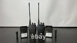 2 x Motorola UHF GP688 400-470 Mhz 2 x Portables with Spare Batteries
