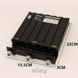 50W New VHF Lowband 66-88MHZ 6 CAVITY DUPLEXER Radio repeater N Connector