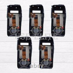 5x Replacement Housing For MOTOROLA XPR6550 with OEM Speaker Handheld
