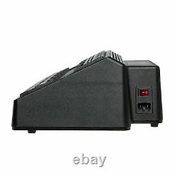 6 Port Radio Battery Charger Bank for Motorola XPR3300 XPR3500 XPR4380 XPR6300