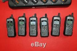 6x Motorola DTR410 Digital On Site Portable 2 Way Radio Walkie Talkie with Charger