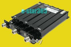 GOOD NEW 6 CAVITY UHF DUPLEXER for radio repeater N connector UHF 50W Duplexer