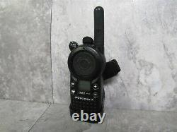 Lot of 6 Motorola CLS1410 Two-Way Radio Walkie Talkie with Belt Clip & Charger