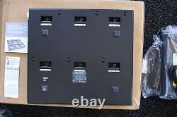 MOTOROLA OEM WPLN4161 6 UNIT RAPID RATE CHARGER With PS NIB CP200, PR400, CP150