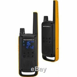 MOTOROLA Talkabout T82 Extreme Quadpack, Walkie Talkie, Two-Way Consumer Radio