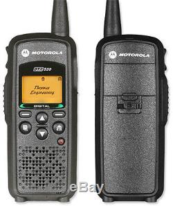 Motorola DTR550 Professional Two Way Radio / Walkie Talkie Up to 350,000 Sq. Ft