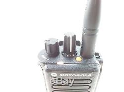 Motorola MotoTRBO XPR 7550 UHF With Bluetooth and OEM Charger Walkie Talkie
