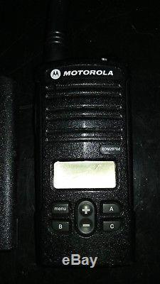 Motorola RDX RDM2070d 2W 7CH VHF Walkie Talkie Two Way Radio with Fast Charger
