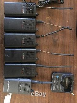 Motorola Radius SP10 2 Way Walkie Talkie/ Radios Lot