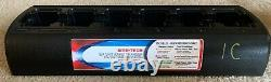 Motorola TWC6M Six Unit Rapid Charger WITH Power Supply Excellent Condition