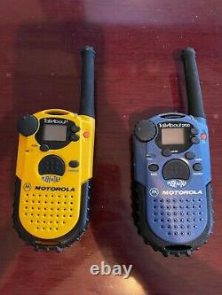 Motorola Talkabout 250 And Talkabout+ Walkie Talkie with headsets