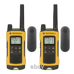 Motorola Talkabout T402 10 Pack Walkie Talkie 35 Mile Two Way Radio Waterproof