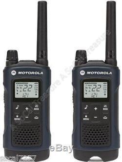 Motorola Talkabout T460 Walkie Talkie 2 Two Way Radio S GMRS FRS Hands Free (4)