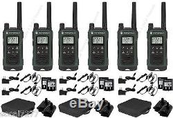 Motorola Talkabout T465 Walkie Talkie 2 Two Way Radio S GMRS FRS Hands Free (6)