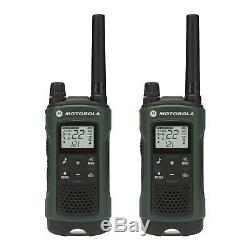 Motorola Talkabout T465 Walkie Talkie 4 Pack 35 Mile Two Way Radio(Case+Earbuds)