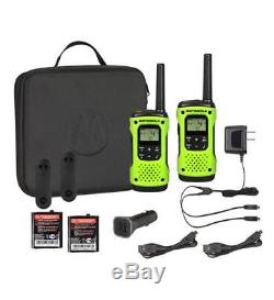 Motorola Talkabout T605 H2O Walkie Talkie 10 Pack Set Two Way Radio Waterproof