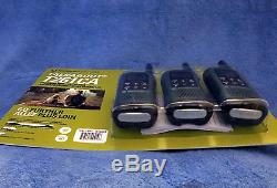 Motorola Talkabout Walkie Talkie FRS/GMRS 40km 3 pack dual power 3.6V or AAA USB