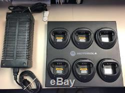 Motorola WPLN4171A multi-unit battery charger and power supply for CP200/PR400