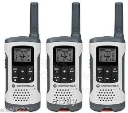 Motorola Walkie Talkie Talkabout 2 Two Way Radios Hands Free GMRS FRS 260TP 6 PK