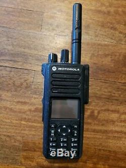 Motorola XPR7550e UHF Portables (Set of 2) Long Distance Two Way Walkie Talkie