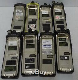 Motorola xts 3000R and Motorola xts 3000 sold as a lot 8 pcs