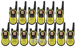 NEW 14 Motorola MH230 MH370 FRS GMRS 2WAY Radio Walkie Talkie Rechargeable Ni-MH