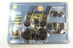 NEW MOTOROLA TalkAbout SX710 22-channels 12-Miles FRS/GMRS Two-Way Radio SEALED