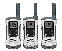 Rechargeable Walkie Talkie 25 Mile Range Small Radio VOX 22 CH FRS GMRS 3 PACK