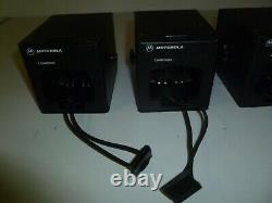 SIX OEM Motorola RLN5233 Vehicle Chargers for HT750 & HT1250 Two Way Radios