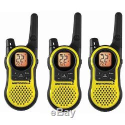 Walkie Talkie Radio 23-Mile Range 22-Channel Rechargeable Two Way (4 Pack)